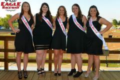 2016 Miss Eagle Raceway Finalists (5)