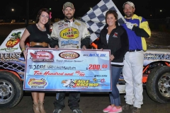eagle-04-28-12-jesse-vanlandingham-with-jamie-kromberg-and-elle-patocka-and-flagman-billy-lloyd