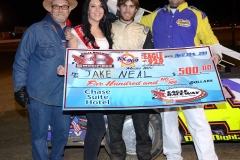 Eagle___04-30-11_Jake_Neal_and_crew,_flagman_Chad_Hart_and_Miss_Nebraska_Cup