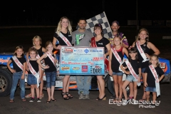 Eagle-08-23-14-283-Jason-Kohl-with-2013-Miss-Nebraska-Cup-Elle-Potocka-and-Miss-Nebraska-Cup-finalist-Jen-Harter-and-flagman-Billy-Lloyd-along-with-2014-Mini-Miss-Nebraska-Cup-finailist-JoeOrthPhoto