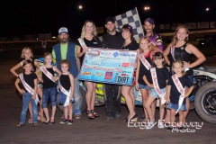 Eagle-08-23-14-301-Chad-Anderson-with-2013-Miss-Nebraska-Cup-Elle-Potocka-and-Miss-Nebraska-Cup-finalist-Jen-Harter-and-flagman-Billy-Lloyd-along-with-2014-Mini-Miss-Nebraska-Cup-finailist-JoeOrthPhoto