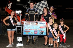 Eagle-08-30-14-427-Jack-Dover-with-2013-Miss-Nebraska-Cup-Elle-Potocka-along-with-2014-Mini-Miss-Nebraska-Cup-finailist-and-flagman-Billy-Lloyd-JoeOrthPhoto