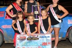 Eagle   08-30-14 464    Tyler Davis with  2013 Miss Nebraska Cup Elle Potocka  along with 2014 Mini Miss Nebraska Cup finailist    JoeOrthPhoto