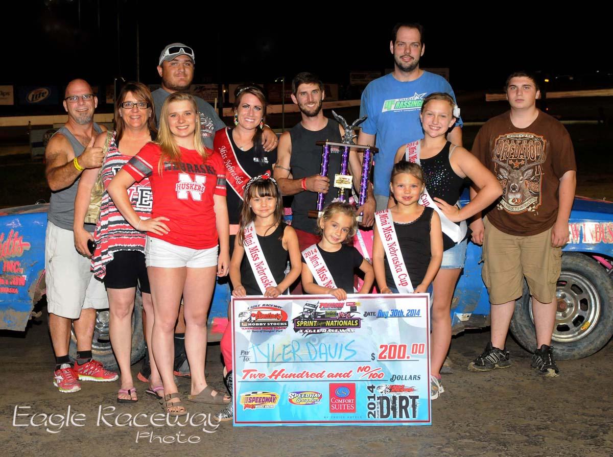 Eagle-08-30-14-467-Tyler-Davis-and-crew-with-2013-Miss-Nebraska-Cup-Elle-Potocka-along-with-2014-Mini-Miss-Nebraska-Cup-finailist-JoeOrthPhoto