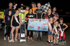 Eagle-08-30-14-434-Jack-Dover-with-crew-and-2013-Miss-Nebraska-Cup-Elle-Potocka-along-with-2014-Mini-Miss-Nebraska-Cup-finailist-and-flagman-Billy-Lloyd-JoeOrthPhoto