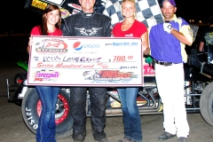 eagle-08-10-13rd-159-doug-lovegrove-with-miss-nebraska-cup-courtney-wulf-and-miss-nebraska-cup-finalist-allison-walter-and-the-eagle-flagman-billy-lloyd