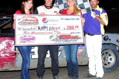 eagle-08-10-13rd-173-rob-brown-with-miss-nebraska-cup-courtney-wulf-and-miss-nebraska-cup-finalist-allison-walter-and-flagman-billy-lloyd