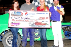 eagle-08-10-13rd-181-joe-feyen-with-miss-nebraska-cup-courtney-wulf-and-miss-nebraska-cup-finalist-allison-walter-and-flagman-billy-lloyd