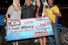 eagle-08-20-11-joey-danley-and-miss-nebraska-cup-katlin-leonard-and-miss-nebraska-cup-finalist-allie-mccall-with-flagman-billy-lloyd