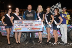 eagle-08-24-13-473-shawn-harker-with-2013-miss-nebraska-cup-finalist-allison-walter-danielle-noonan-donna-hafsaas-elle-patocka-and-jen-harter-and-flagman-billy-lloyd