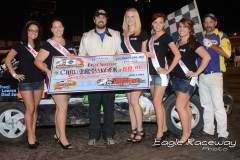 eagle-08-24-13-489-chad-bassinger-with-2013-miss-nebraska-cup-finalist-allison-walter-danielle-noonan-donna-hafsaas-elle-patocka-and-jen-harter-and-flagman-billy-lloyd