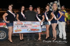 eagle-08-24-13-500-rj-macku-with-2013-miss-nebraska-cup-finalist-allison-walter-danielle-noonan-donna-hafsaas-elle-patocka-and-jen-harter-and-flagman-billy-lloyd