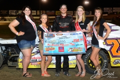 Eagle   07-11-15 (495)    Beji Legg with 2015 Miss Nebraska Cup Jen Harter along with 2015 Miss Eagle Raceway finalist Kayla Meidinger Zoe Dalton Robyn Burnison   JoeOrthPhotos.JPG