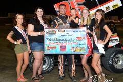 Eagle-07-11-15-503-Trevor-Grossenbacher-with-2015-Miss-Nebraska-Cup-Jen-Harter-with-2015-Miss-Eagle-Raceway-finalist-Kayla-Meidinger-Zoe-Dalton-Robyn-Burnison-JoeOrthPhotos