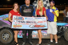 eagle-07-20-13-538-shawn-harker-with-miss-nebraska-cup-courtney-wulf-and-miss-nebraska-cup-finalist-elle-patocka-and-flagman-billy-lloyd