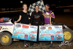 Eagle   07-26-14 472    Benji Legg with  Miss Nebraska Cup Finalist Jen Harter and flagman Billy Lloyd   JoeOrthPhotos