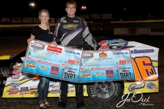 Eagle   07-26-14 482   Johnny Saathoff with  Miss Nebraska Cup Finalist Jen Harter   JoeOrthPhotos