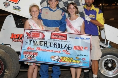 eagle-07-28-12-544-tyler-drueke-with-miss-cass-county-loxley-grafe-and-miss-eagle-amanda-fogerty-and-flagman-billy-lloyd