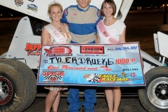 eagle-07-28-12-546-tyler-drueke-with-miss-cass-county-loxley-grafe-and-miss-eagle-amanda-fogerty