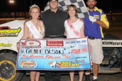 eagle-07-28-12-551-geoff-olson-with-miss-cass-county-loxley-grafe-and-miss-eagle-amanda-fogerty-and-flagman-billy-lloyd