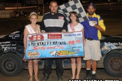 eagle-07-28-12-561-kevin-fearing-with-miss-cass-county-loxley-grafe-and-miss-eagle-amanda-fogerty-and-flagman-billy-lloyd