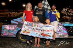 eagle-07-06-13-633-shane-harker-and-fan-club-and-miss-nebraska-cup-finalist-jen-harter-and-the-eagle-flagman-billy-lloyd
