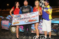 eagle-06-22-13-560-shawn-harker-and-2012-miss-nebraska-cup-courtney-wulf-and-miss-nebraska-cup-finalist-steph-klein-and-flagman-billy-lloyd