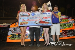 eagle-06-29-13-654-shane-hiatt-with-miss-nebraska-cup-courtney-wulf-and-miss-nebraska-cup-finalist-jen-harter-and-the-eagle-flagman