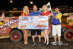 eagle-06-29-13-659-steve-swarthout-with-miss-nebraska-cup-courtney-wulf-and-miss-nebraska-cup-finalist-jen-harter-and-eagle-the-flagman