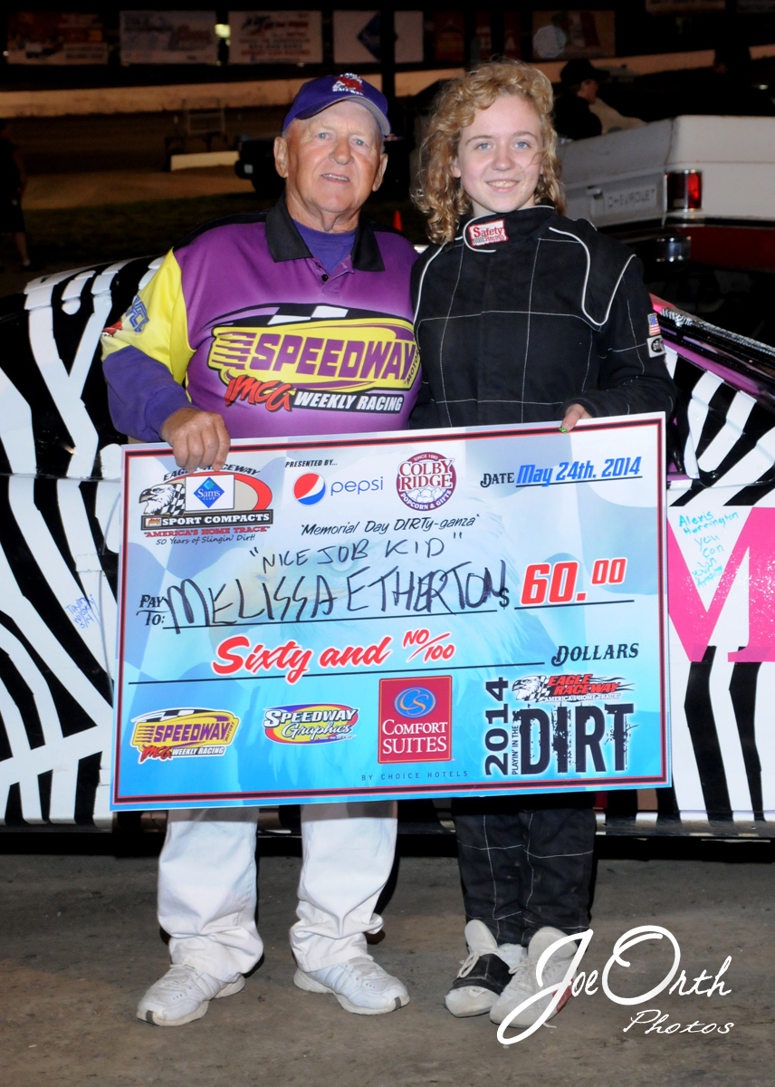 eagle-05-24-14-537-melissa-etherton-with-uncle-larry-toombs-imca-tech-joeorthphotos