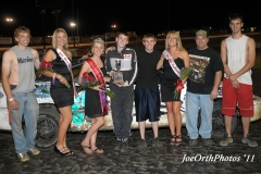 eagle-09-11-11-ne-cup-trevor-noonan-and-crew-with-2011-miss-nebraska-cup-queen-deanne-kathol-and-2011-finalist-elle-patocka-and-lindsey-flodman