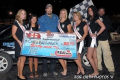 eagle-09-04-11-chad-bassinger-with-2011-nebraska-cup-finalist-catrina-harris-elle-patocka-emma-kelley-jamie-kromberg-lindsey-flodman-and-flagman-billy-lioyd