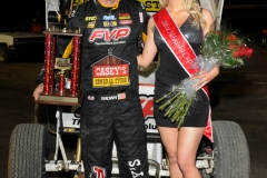 Eagle   09-07-14 518    Brian Brown with  2014 Miss Nebraska Cup Jen Harder    JoeOrthPhoto