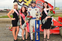 Eagle-09-07-15-IMCA-Nationals-489-John-Carney-II-with-2015-Miss-Eagle-Raceway-Kayla-Meidinger-and-finalist-Sidney-Brummer-Robin-Brunison-Joe-OrthPhotos