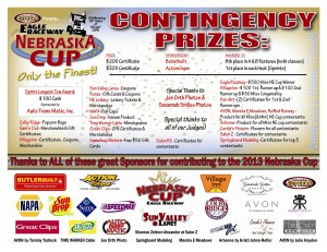 2013 Ne Cup conting Sponsors