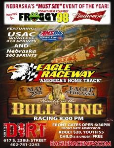 Rumble in Bullring Flyer 2014