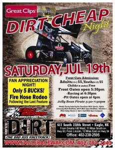 Dirt Cheap 2014 Flyer