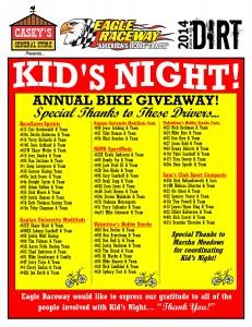 kids night driver list2014