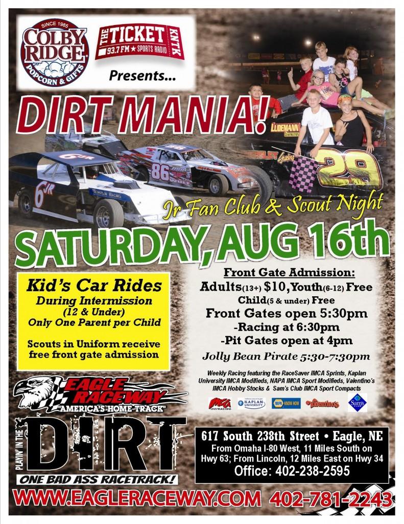 dirt mania2014 flyer