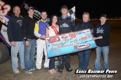 Eagle___04-30-11_Jack_Dover_and_crew,_flagman_Chad_Hart_and_Miss_Nebraska_Cup